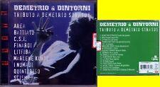 AA.VV. TRIBUTO A DEMETRIO STRATOS AREA LITFIBA C.S.I.  CD PROGRESSIVO SEALED