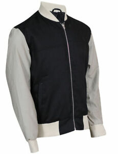 BABY DRIVER ANSEL ELGORT AMERICAN STYLE LETTERMAN COTTON JACKET