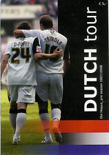Stormvogels v Swansea City Dutch tour - 4 games 29 Jul 2007  FOOTBALL PROGRAMME