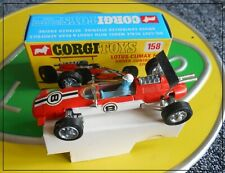 Corgi 158 Lotus Climax F1 49 49B Mint Boxed Exceptional Hill Rindt Siffert