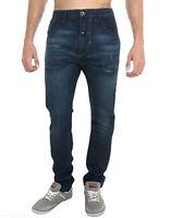 Jeans Uomo Pantaloni ENERGIE B948 Gamba Dritta Blu Tg 33