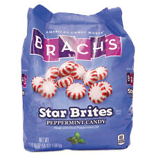 Brach's Star Brites Peppermint Candy Individually Wrapped 58 oz Bag 827132
