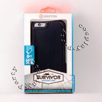 Griffin Survivor Adventure Rugged Case For iPhone 6 Plus iPhone 6s Plus Black