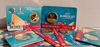 Coincard BU 2,5 Euros Commémorative Belgique 2021 UEFA Version NL
