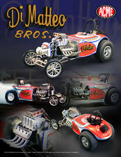 DI MATTEO BROTHERS AUSTIN BANTAM ALTERED DRAG CAR ACME 1:18 SCALE DIECAST MODEL
