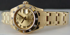ROLEX - 18kt Gold Pearlmaster Masterpiece - Champagnne Roman - 80318 SANT BLANC