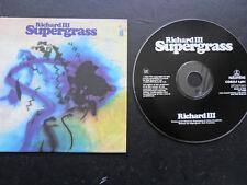 Supergrass/Richard III 1-Track Promo Cardsleeve EMI 1997/MCD