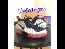 Nike Foamposites Pro BRIGHT CRIMSON100% Authectic DS size10,basketball brand new