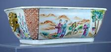 18th C. Chinese Mandarin Rectangular Figural Tureen.