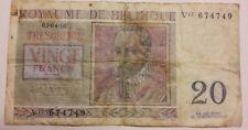 Billets, Belgique, 20 Francs type De Lassus 1956 De Monte Belgïe 20 Frank