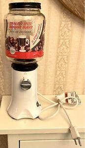 EUC! KitchenAid Coffee Mill Grinder White Model A-9 KCG200WH