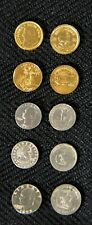 Collector Set of Miniature Novelty Coins 10 Coins Total