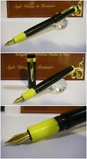 Celluloid University Blancheur Fountain pen - Stylo Hand Made