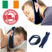 Stop Snoring Chin Strap Belt Anti Snore Sleep Aid Apnea Jaw Support Nasal Device