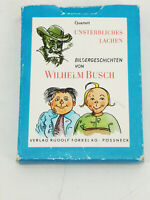 Altes Quartett Kartenspiel Wilhelm Busch VEB Altenburg