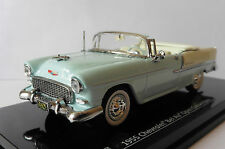 CHEVROLET BEL AIR OPEN CONVERTIBLE SKYLINE BLUE VITESSE 36295 1/43 CABRIOLET