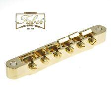 Faber ABRN-59-GG, ABRN59GG, Bridge fits Nashville Studs, Gold Gloss Finish