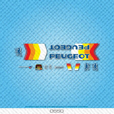Peugeot Bicycle Decals - Transfers - Stickers - Set 550