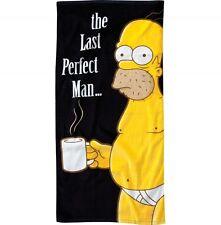 Los Simpsons badetuch Beach towel the last Perfect Man Homer playa pañuelo toalla