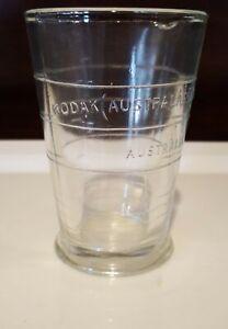 Vintage Kodak Australasia Chemical Measuring Glass Beaker Jug Embossed