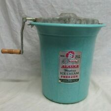 VINTAGE 1950'S ALASKA HOSTESS ICE CREAM FREEZER ICE CREAM MAKER FIBERGLASS SHOWS