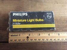 Phillips Miniature Lights Bulbs 1835 , Vintage Advertising Box
