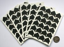 NO 161 Scrapbooking -120 Black Photo Picture Adhesive Corners Stickers Scrapbook