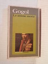 LE ANIME MORTE Nikolaj Vasil evic Gogol Garzanti 1976 libro romanzo narrativa di