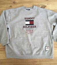 Vintage Tommy Hilfiger Gray Crewneck Sweatshirt Size XL USA