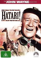 John Wayne HATARI - WILD AFRICAN ANIMAL ADVENTURE DVD (NEW & SEALED)