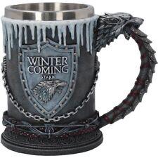 Game of Thrones Official HBO Merchandise - House Stark Tankard 16cm