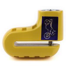 Security Anti Thief Motorcycle Scooter Bicycle Wheel Disc Brake Alarm Lock Yello