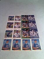 *****Eric Hillman*****  Lot of 65 cards.....14 DIFFERENT