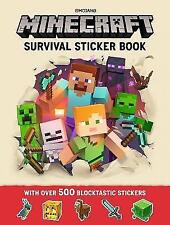 Minecraft Survival Sticker Book: An Official Minecraft Book From Mojang by Mojang AB (Paperback, 2017)