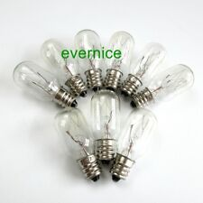5 Pcs Screw In Clear Light Bulbs 220V 15W For Singer Babylock Brother Janome New