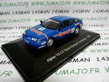 ALP18 Voiture 1/43 eligor RENAULT Alpine : V6 GT Turbo  Europa Cup Speedy 1985P