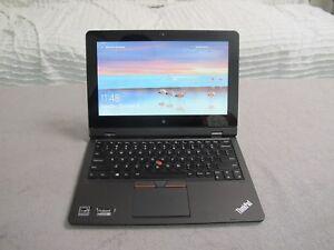 Lenovo ThinkPad Helix Notebook 2nd Gen M-5Y10 4GB 128GB Win 10 20CG002CAU   #35