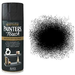 Sale! Rust-Oleum Painter's Touch Multi-Purpose Aerosol Spray Paint Black Gloss