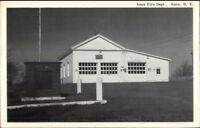 Knox NY Albany County Fire Department Old Postcard
