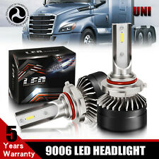 2-Sided 9006 HB4 LED Headlight Bulbs For 2002-2016 Freightliner M2 100 106 112