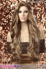 Lush Lengths XXLong Wig - COLOUR CHOICES! Brown Black Red Platinum