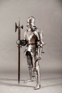 Templar armor Medieval Nautical Vintage Knight Home Decor Body Of Armour Suit