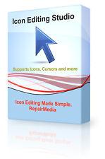 Icon Editing Studio Cursor Creation Designer Maker Producer Photo Software DVD