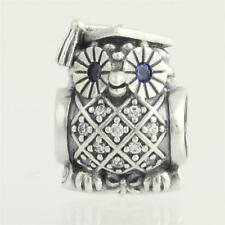 NEW 925 GENUINE AUTHENTIC PANDORA  Graduate Wise Owl charm 791502NSB