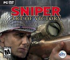 Sniper: Art of Victory - (PC-CD) BRAND NEW SEALED OEM BOX