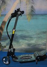 monopattino  elettrico e-scooter  120 w  con sellino base metallica blu  bici