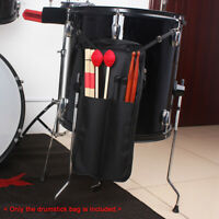 2477 Drum Stick Bag Drum Stick Bag Case Black 600D Waterproof Holder Zipper