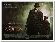 ROAD TO PERDITION - 2002 - original 40x30 BRITISH QUAD Movie Poster - TOM HANKS