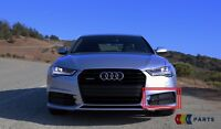 NEW GENUINE AUDI A6 15-17 FRONT BUMPER LOWER N/S LEFT FOG GRILL 4G0807647B BMT