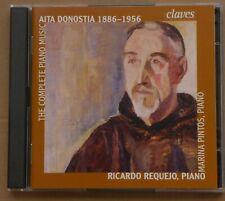 AITA DONOSTIA - COMPLETE WORK FOR PIANO - RICARDO REQUEJO, PIANO - 2 CDs